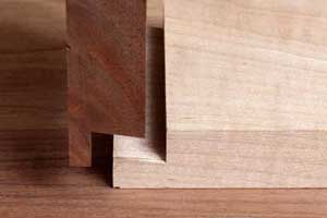 Dovetail Rabbet Joint