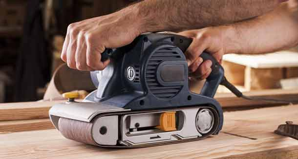 How to Use a Belt Sander