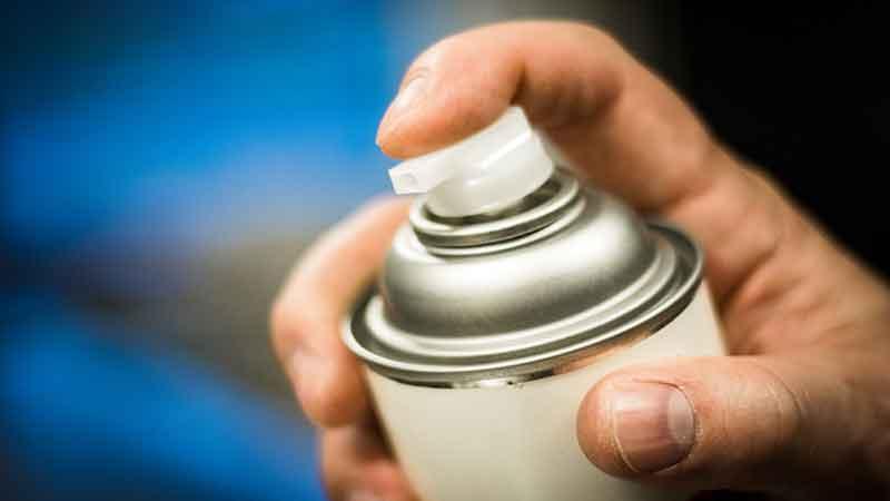 Remove Spray Adhesive